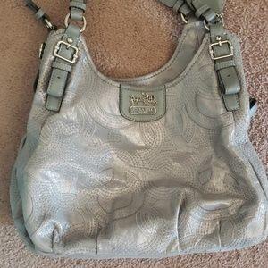 Shiny Coach purse
